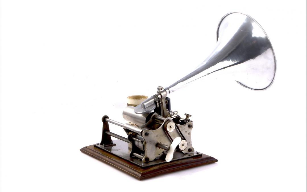 1904 Pathé Ideal felvevős fonográf