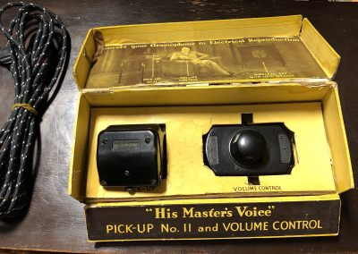 1935 His Masters Voice Pick-Up No. 11 and Volume Control - IMG_4776.jpg