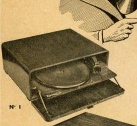 1939 Thorens gramofon lemezjátszó