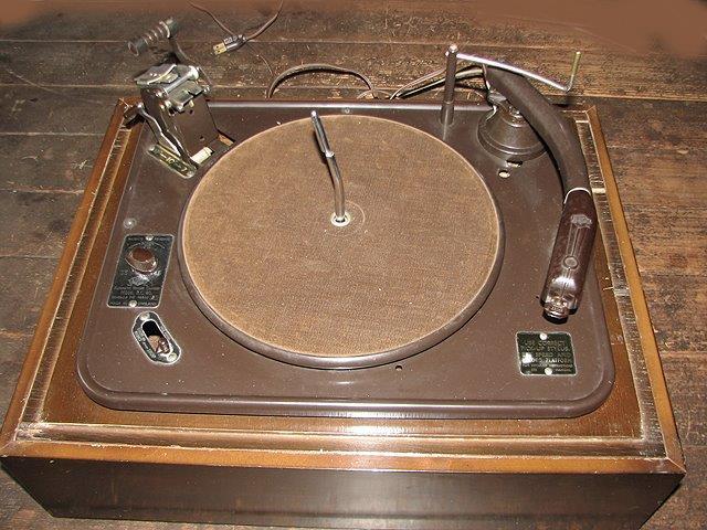 1952 Garrard Automatic Record Changer RC80