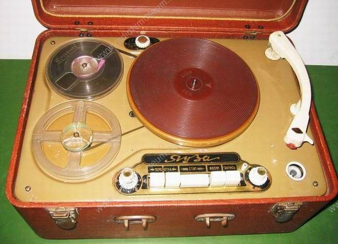 1956 Ruza lemezjátszó és magnó