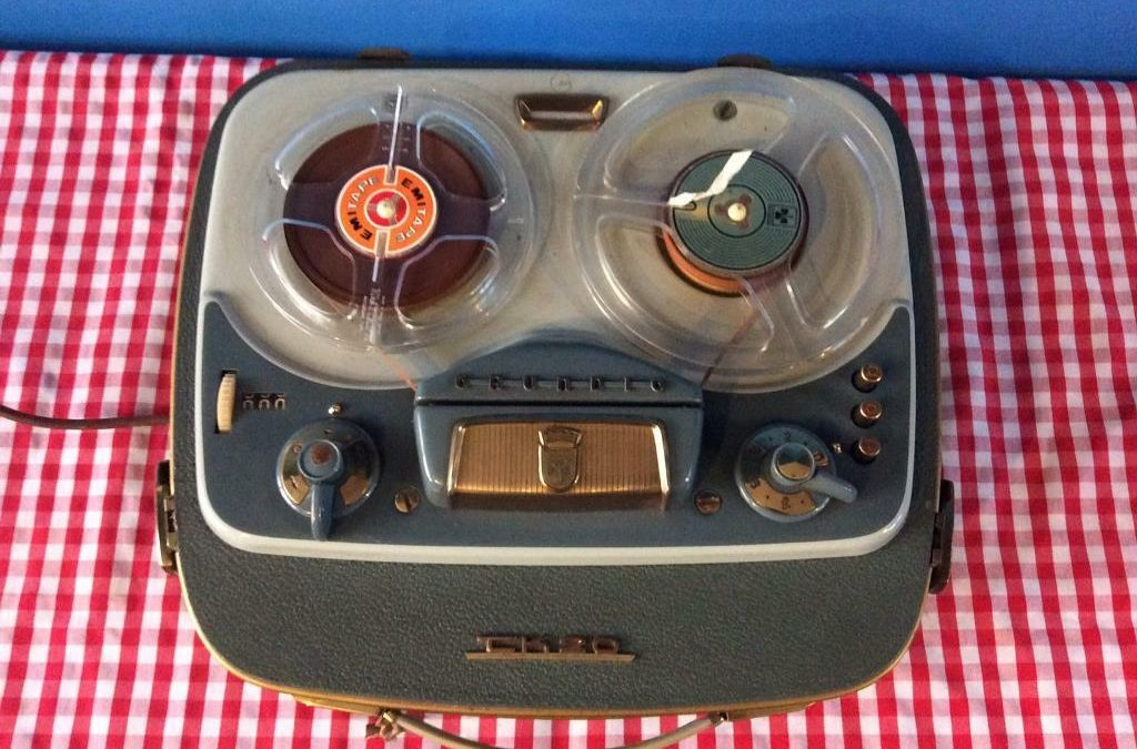 1958 Grundig Tape Recorder TK 20