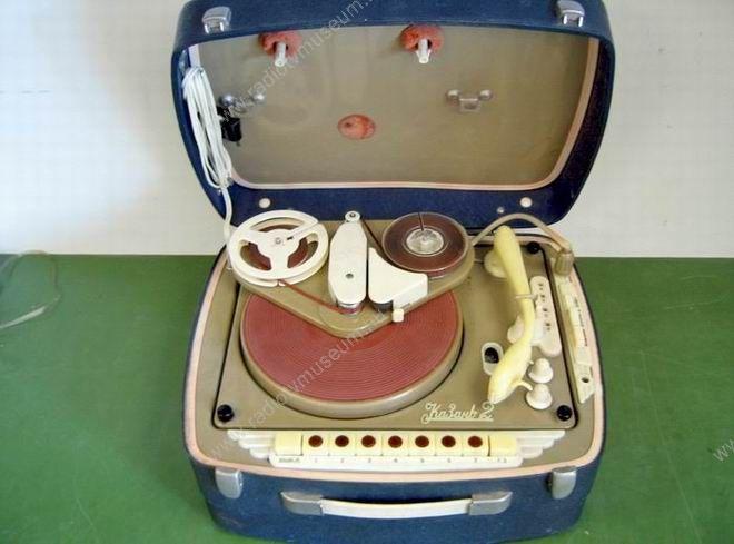 1958 Kazan 2 lemezjátszó magnó adapter