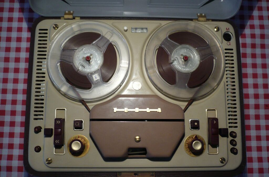 1959 Tesla Tape Recorder Sonet Duo ANP 210
