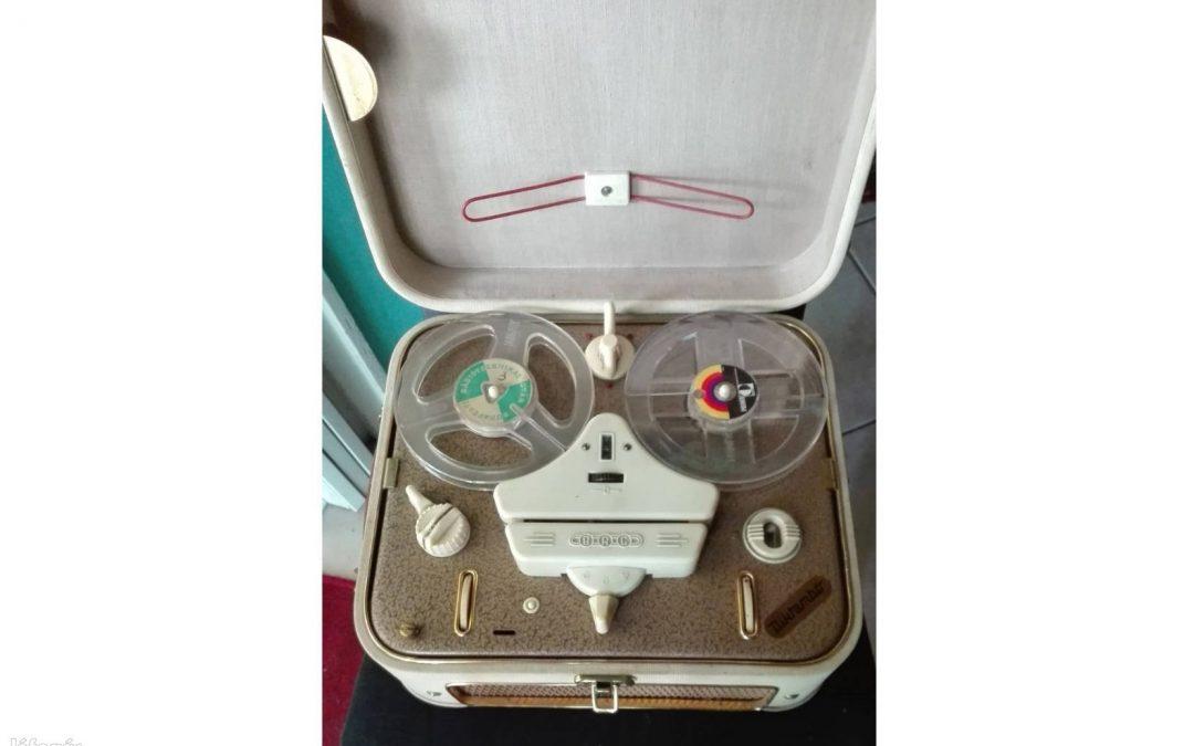 1960 BRG Szalagos Magnó Mambó M 5a Diktambó