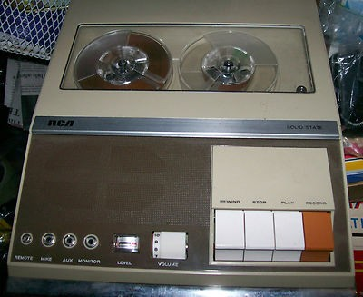1960 RCA Model YLS15B Solid State Reel-to-Reel Recorder