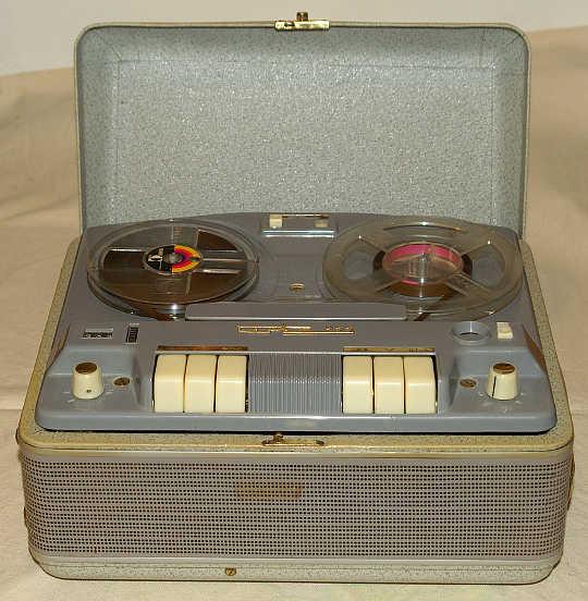 1960 Terta Szalagos Felvevő Magnefon 922