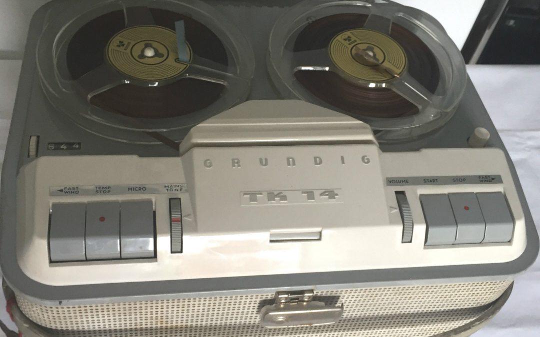 1961 Grundig Tape Recorder TK 14