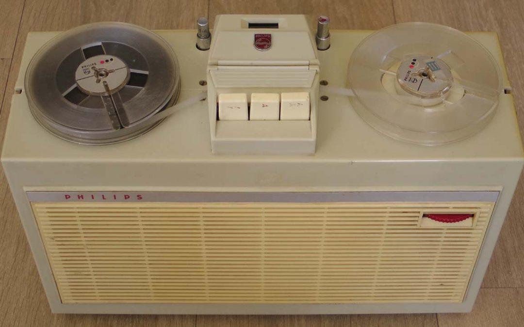 1961 Philips Portable Tape Recorder EL 3514