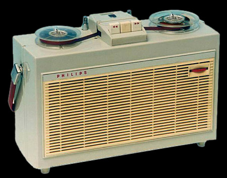 1961 Philips Portable Tape Recorder EL 3514