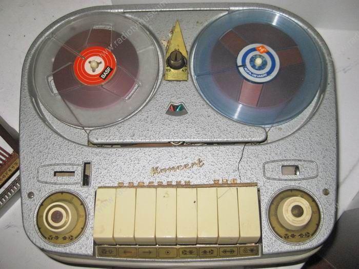 1962 BRG Oda-Visszajátszó Szalagos Magnó Koncert M 4a