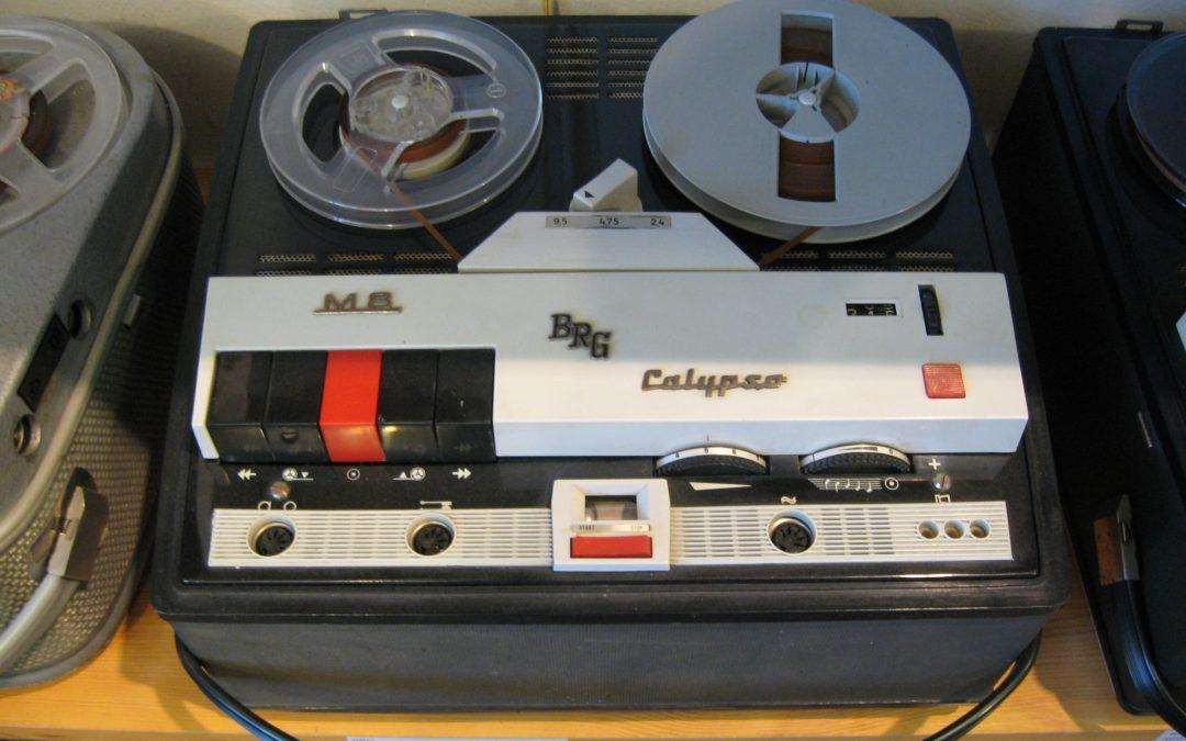 1962 BRG Szalagos Magnó Calypso M 8