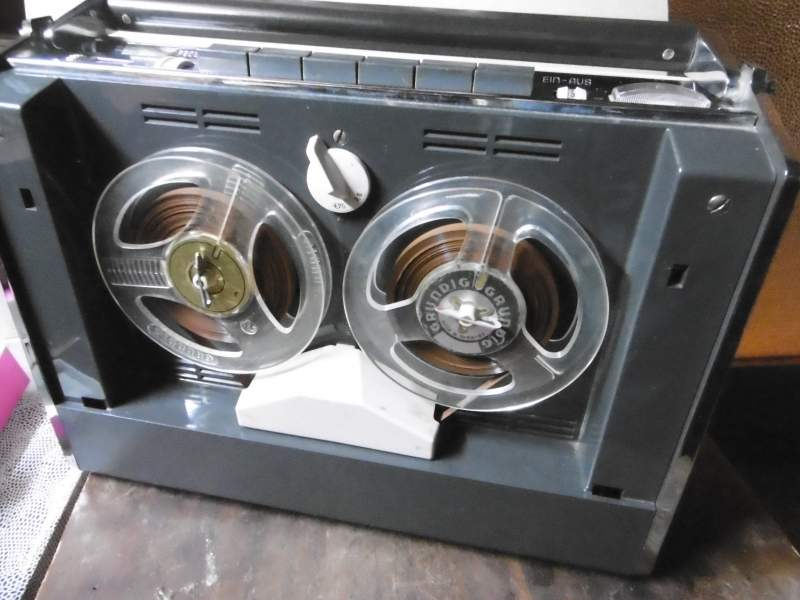 1963 Grundig Portable Tape Recorder TK 6 L