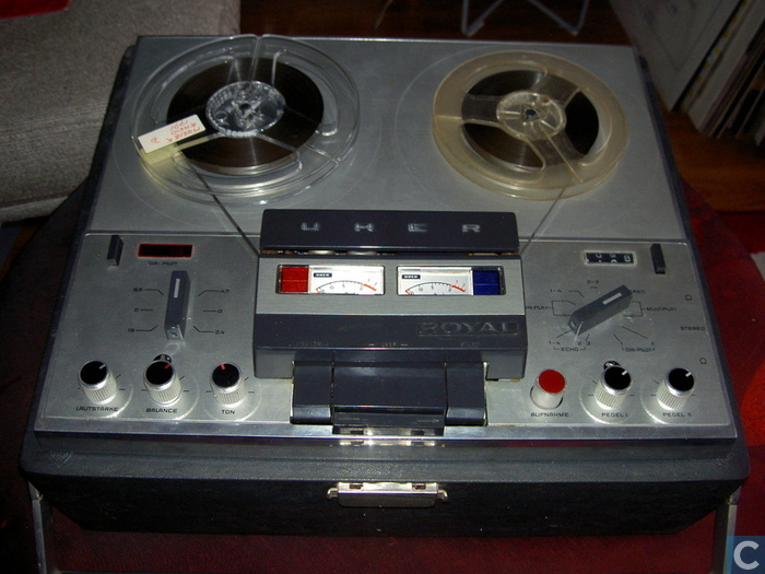 1962 Uher Stereo Tape Recorder Royal 784e