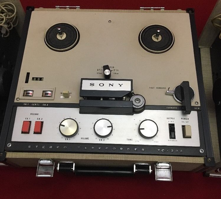 1963 Sony Stereo TapeCorder TC-200