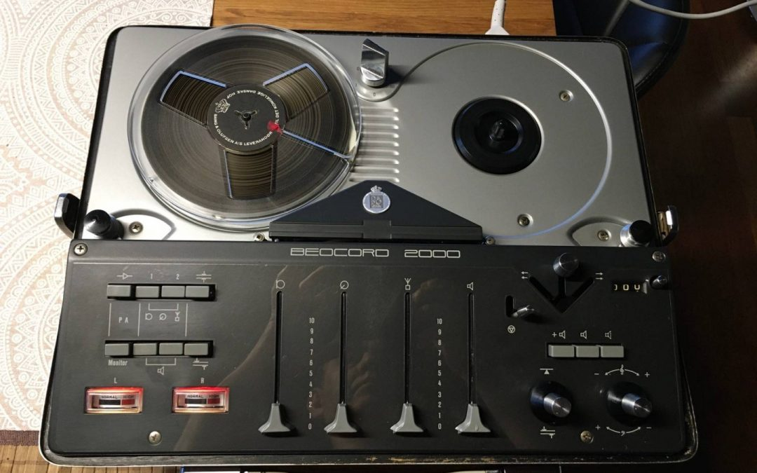 1964 Bang & Olufsen Stereo Tape Recorder Beocord 2000 T