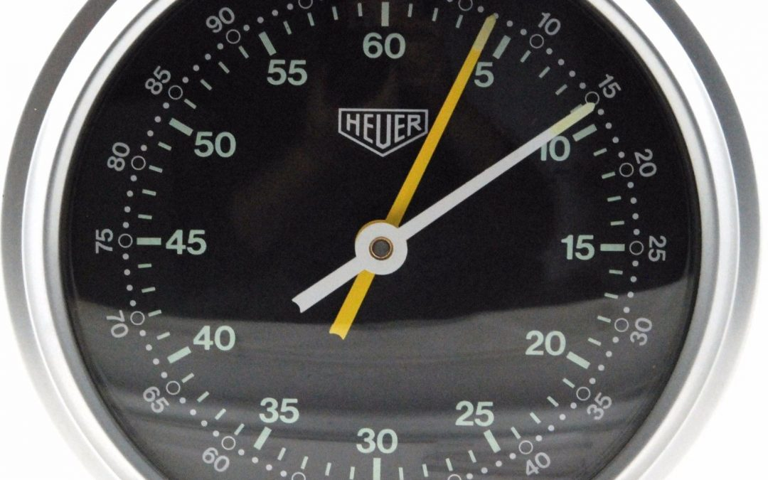1964 Heuer Desk Stopwatch Table Timer ref. 713