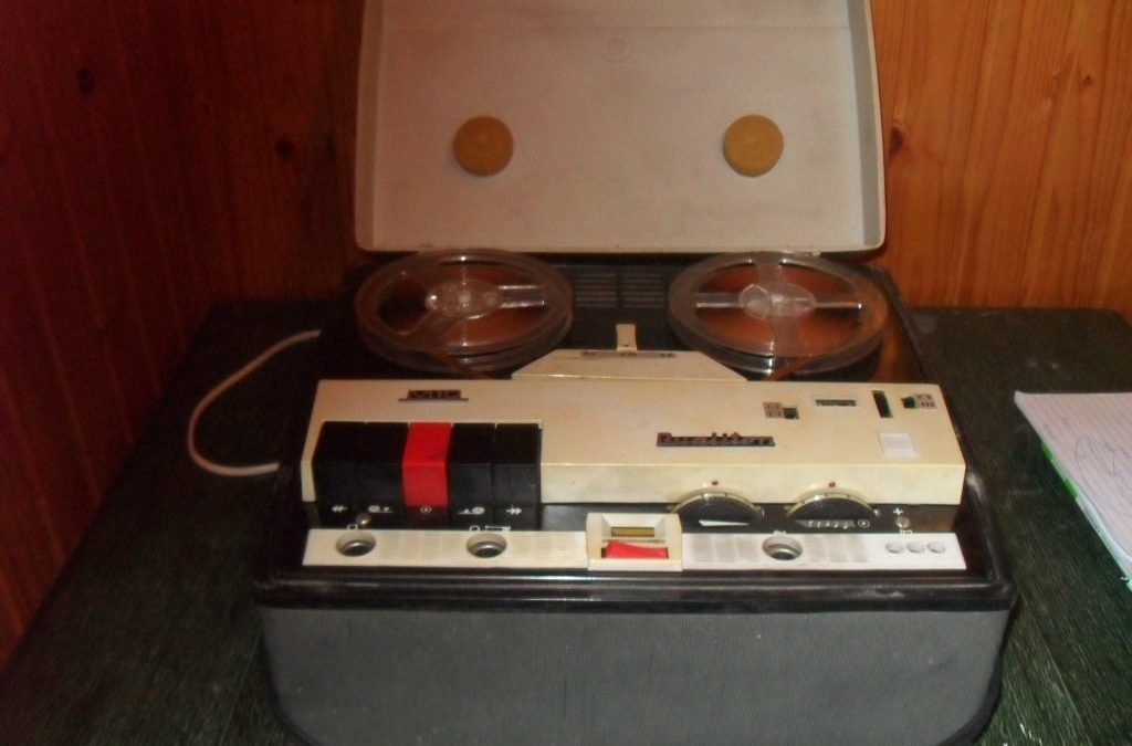 1965 BRG Szalagos Magnó QualitonRevue M 10
