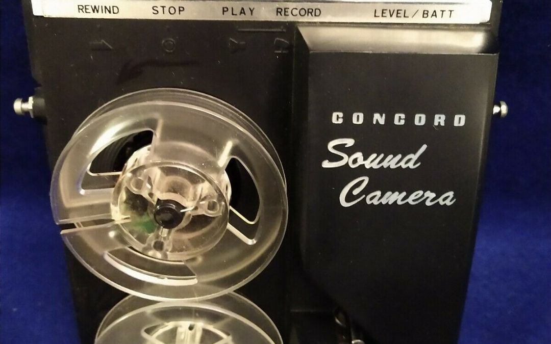 1965 Concord Sound Camera Reel To Reel Model F-88