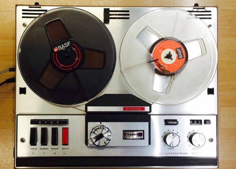 1965 Telefunken Magnetophon 203 TS