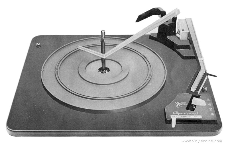 1967 Garrard Automatic Turntable 1025