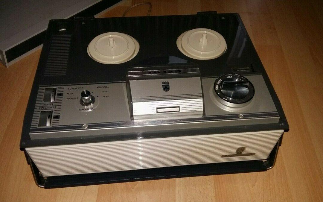 1967 Grundig Tape Recorder TK 125