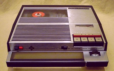 1967 Telefunken Portable Magnetophon 302