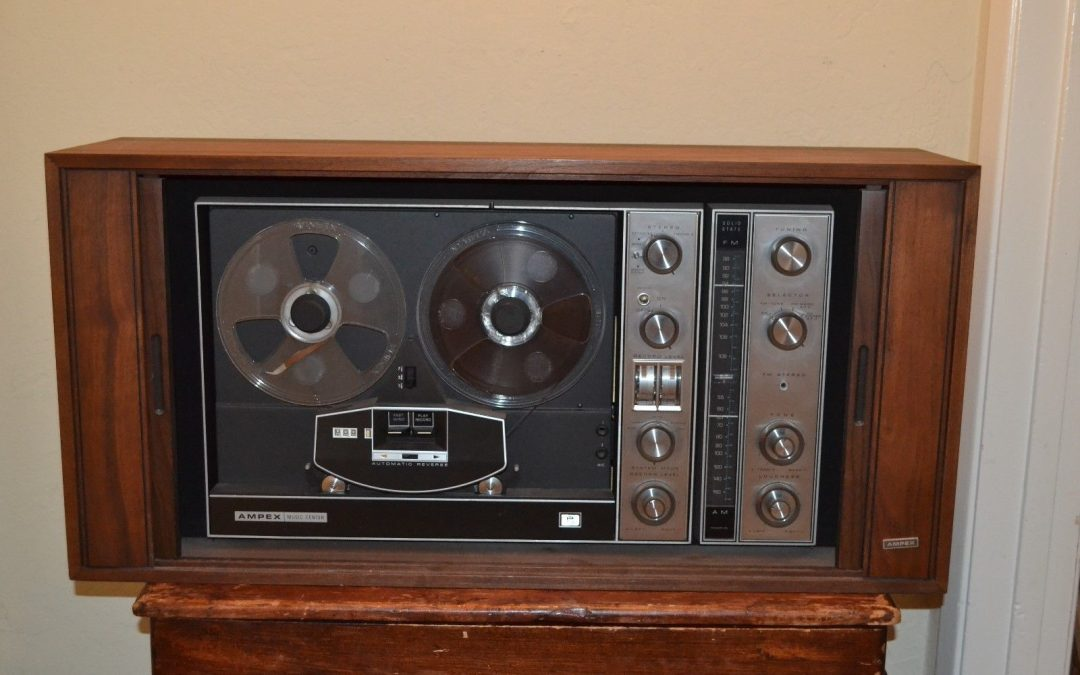 1968 Ampex Stereophonic Music Center 985A