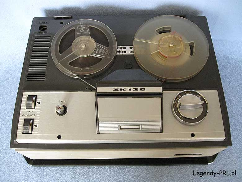 1968 Unitra ZRK Grundig Licence Tape Recorder ZK 120