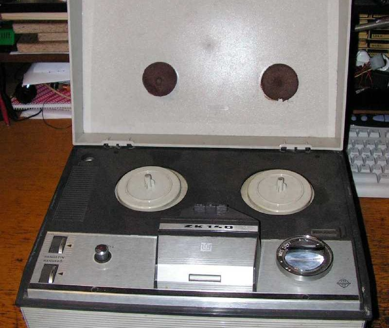 1968 Unitra ZRK Grundig Licence Tape Recorder ZK 140