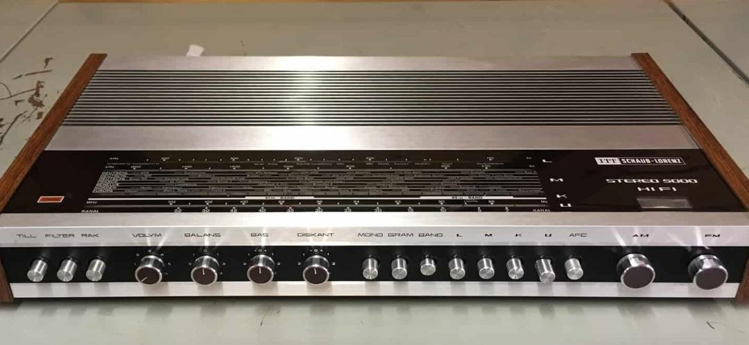 1968 ITT Schaub-Lorenz Stereo Receiver 5000 Hi Fi