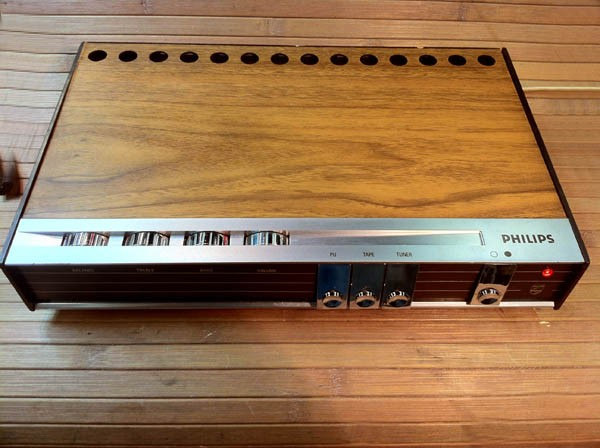 1968 Philips Stereo Amplifier 22RH580-00Z