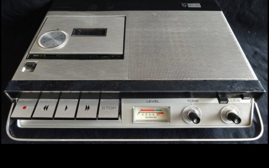 1968 Philips Cassette Recorder N2205