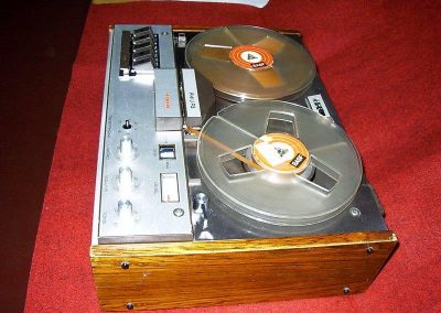 1968 Philips Mono Tape Recorder N4307 - kép-04..jpg