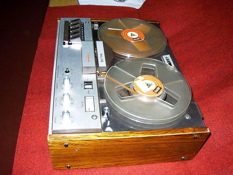 1968 Philips Mono Tape Recorder N4307