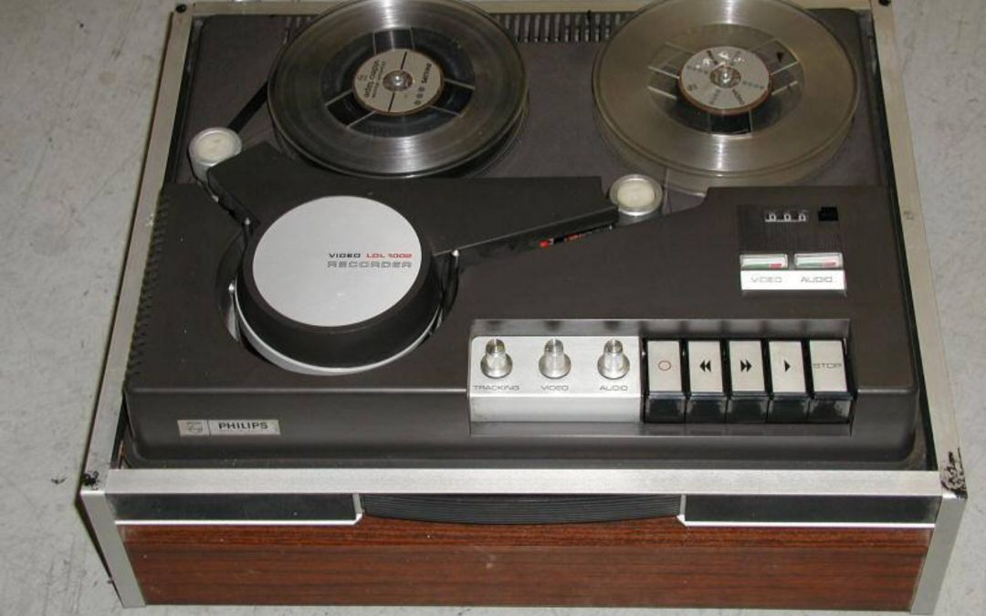 1968 Philips Reel to Reel Video Recorder LDL 1002
