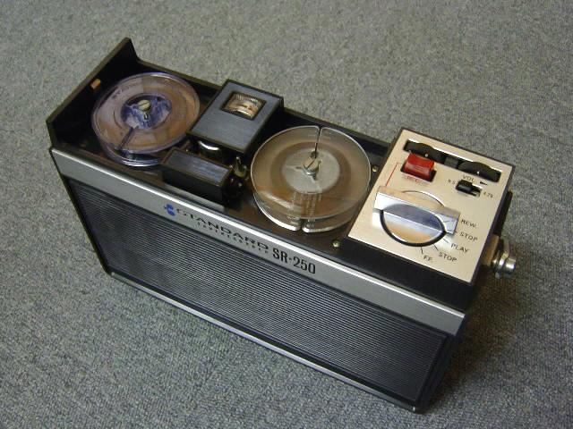 1968 Standard Taperecorder SR-250