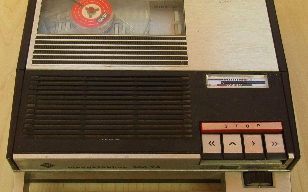 1968 Telefunken Portable Magnetophon 300 TS
