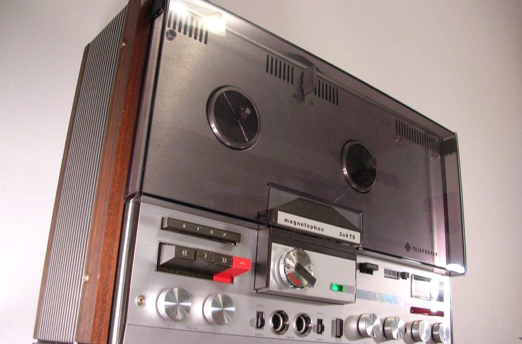 1969 Telefunken Stereo Tape Recorder Magnetophon 204 TS