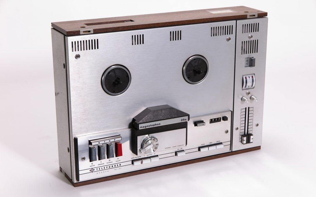 1968 Telefunken Stereo Tonbandgerät Magnetophon Acusta HiFi M250