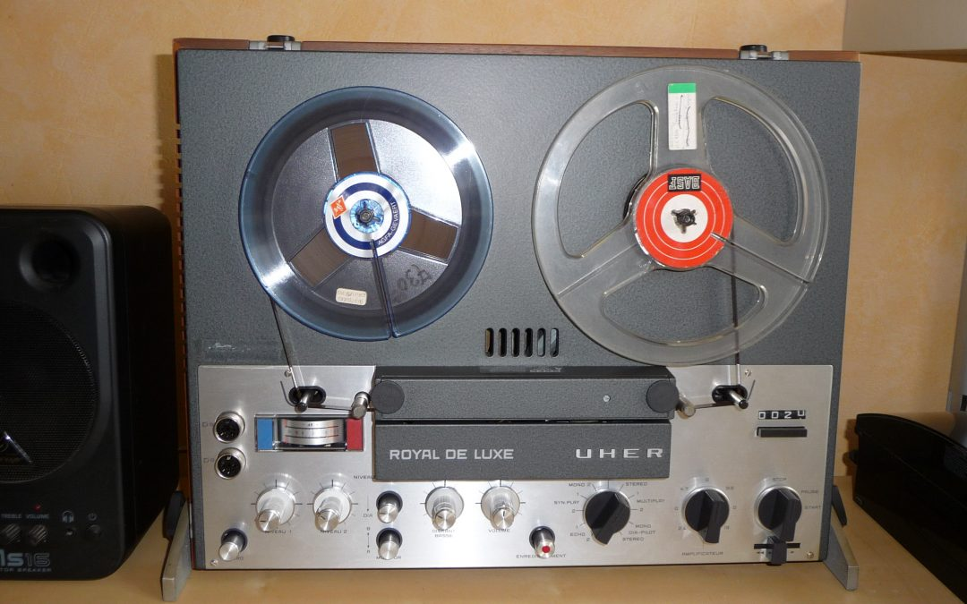 1968 Uher Stereo Tape Recorder Royal de Luxe