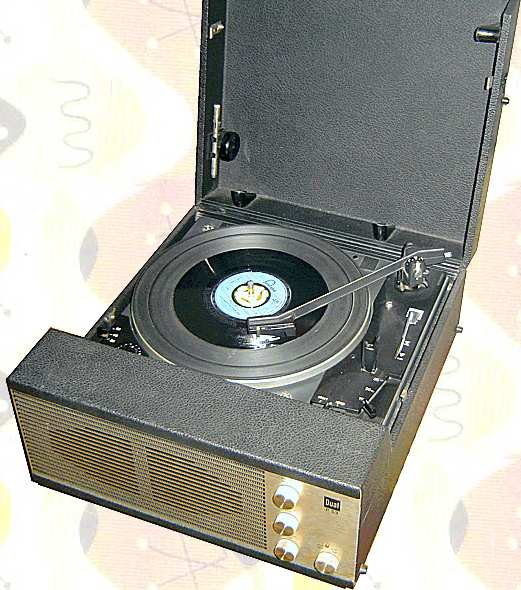1969 Dual Stereo Portable Turntable Record Changer P53