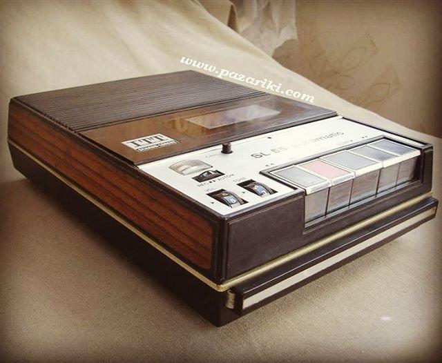 1969 ITT Schaub Lorenz Cassette Recorder Automatic SL 55
