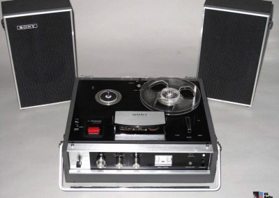 1969 Sony Sterecorder Solid State Stereo Center TC 230 - Sony-TC230.1.jpg