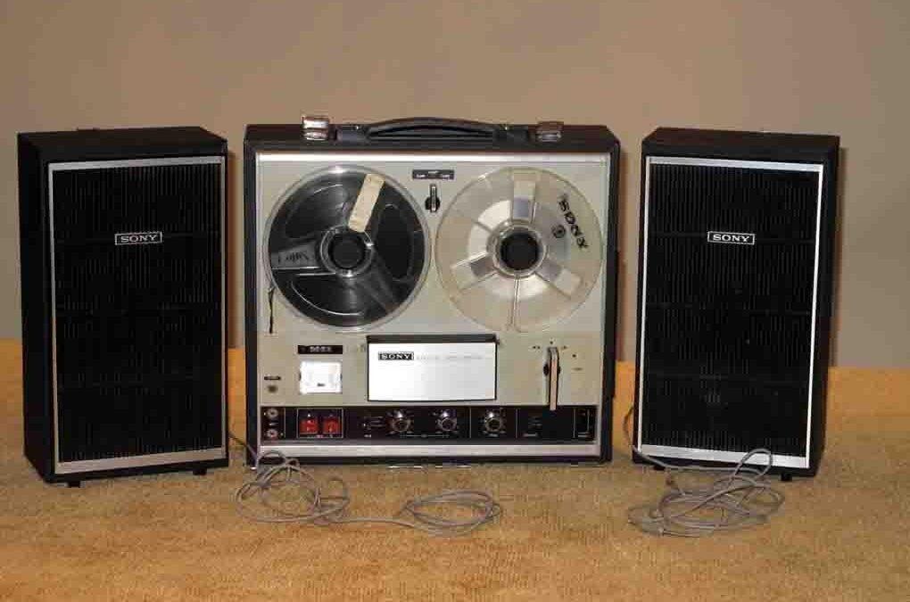 1969 Sony Strereo Tape Corder TC-252