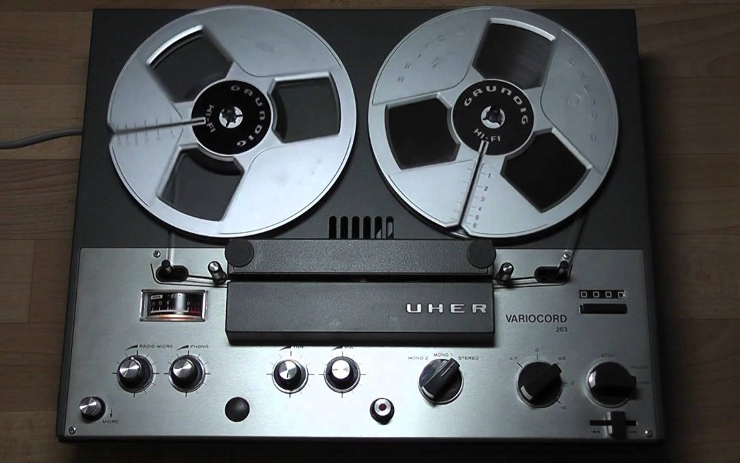 1969 Uher Stereo Tape Recorder Variocord 263