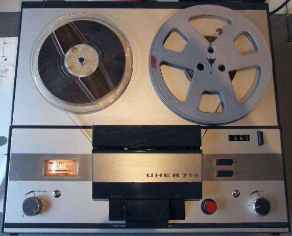 1969 Uher Tape Recorder 714