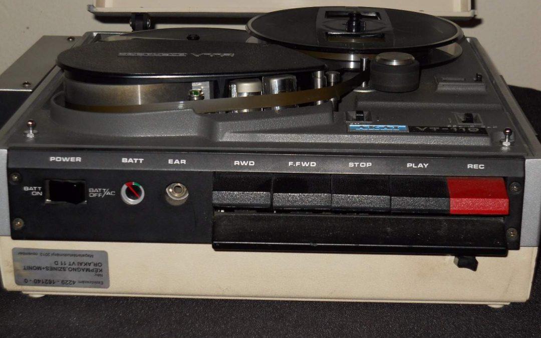 1970 Akai Portable VTR VT-110
