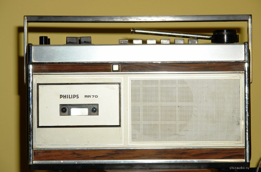 1970 Philips AM-FM Cassette Recorder RR70