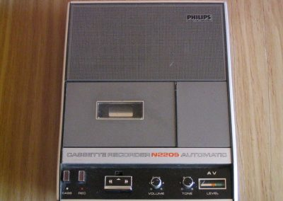 1970 Philips Compact Cassette Recorder N2209 - PhilipsN2209.1.jpg